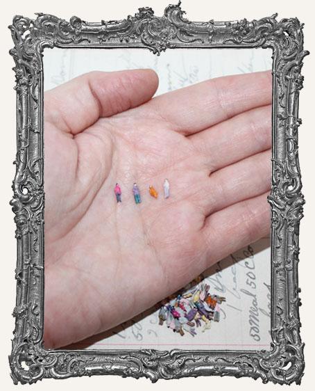 Miniature People Set of 4 - XXXSMALL