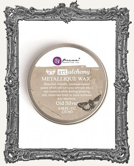 Finnabair - Art Alchemy - Antique Brilliance Wax - Old Silver