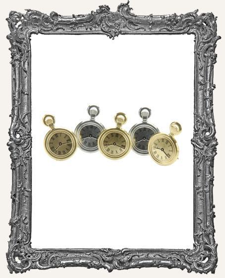 Pocket Watch Brads - 12 Piece