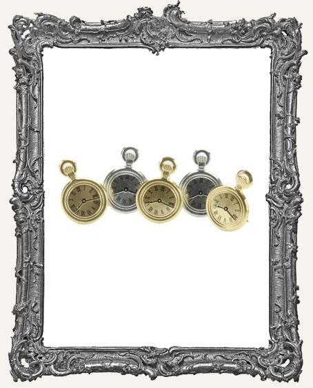 Pocket Watch Brads - 12 Piece