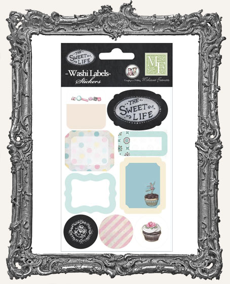 The Sweet Life Washi Label Stickers
