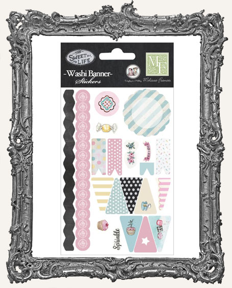 The Sweet Life Washi Banner Stickers