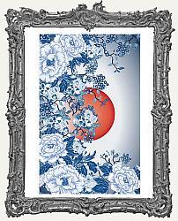 Prima Marketing Re-Design Mulberry Tissue - Skull Chinoiserie