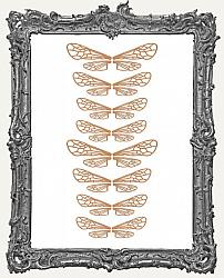 Mini Ornate Insect Wing Cut Outs - 8 Sets - 32 Pieces