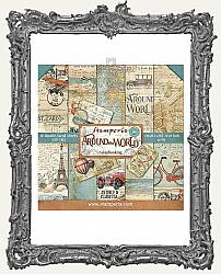 Stamperia Double-Sided Paper Pad 8X8 - Around the World