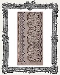 Prima Re-design Art Decor Mould - Border Lace