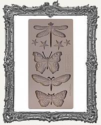 Prima Re-design Art Decor Mould - Insecta and Stars