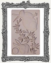 Prima Re-design Art Decor Mould - Meadow Hare