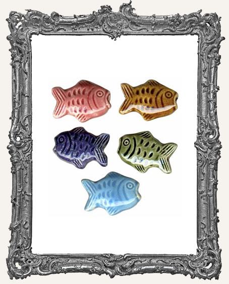 Fish Ceramic Bead
