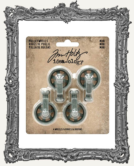 Tim Holtz - Idea-ology - Mini Pulley Wheels