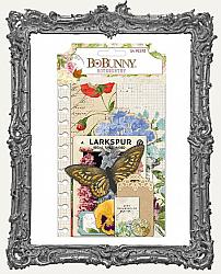 Bo Bunny Botanical Journal Noteworthy Die-Cuts 54 Pack