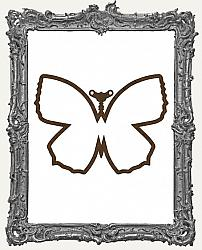 Mixed Media Creative Surface Board - Layered Steampunk Open Butterfly
