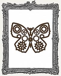Mixed Media Creative Surface Board - Layered Steampunk Butterfly