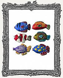 Tropical Fish Ceramic Bead