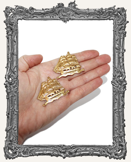 Brass Ships - Set of 2