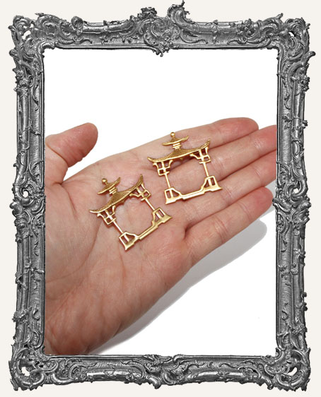Brass Shrine Frames - Set of 2