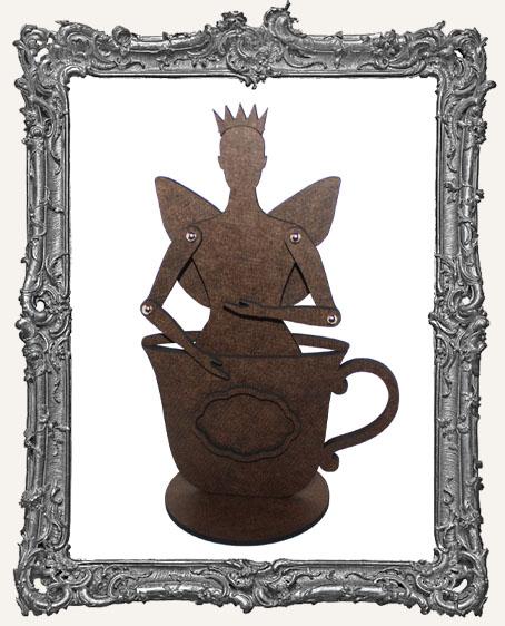 Tea Cup Fairy Art Doll Kit - Lemon - MEDIUM