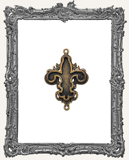 A Gilded Life Bronze or Silver - Fleur Bezel SMALL