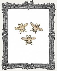 FREE GIFT - Freebees - Musical Chipboard Bee Cut-Outs - 3 Pieces