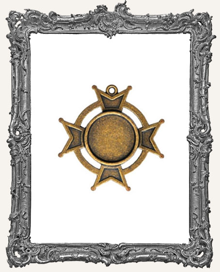 A Gilded Life Bronze or Silver - Iron Bezel LARGE