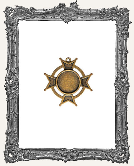 A Gilded Life Bronze or Silver - Iron Cross SMALL