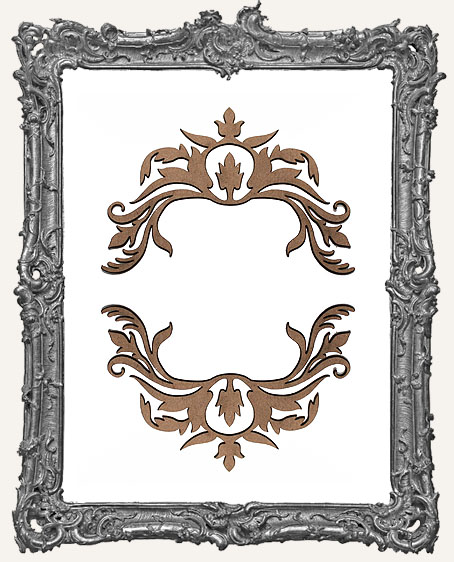 Ornate Flourish Cut-Outs Style 4 - Set of 2