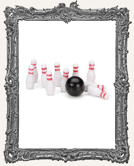 Miniature Bowling Set - 3/4 Inch - 1 Set