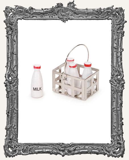 Miniature Milk Crate Spatterware - 1-1/4 Inches - 1 Set