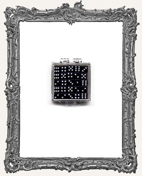 25 Mini Black Dice - 5mm