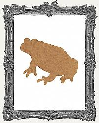 Chipboard Toad Cut-Outs - 3 Pieces