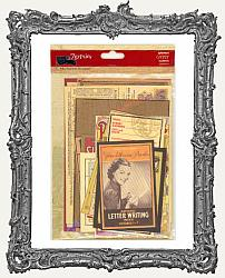 7 Gypsies Ephemera Card Set - 15 Pieces - Gypsy