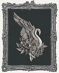 Zuri Silicone Mold - Swan Dreams