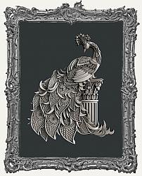 Zuri Silicone Mold - Peacock Splendor