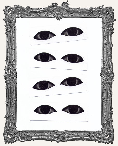 Interesting Eye Stickers - 4 Pairs