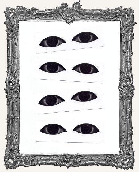Interesting Eye Stickers - 4 Pairs
