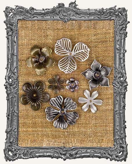Vintage Mechanicals - Mini Flowers