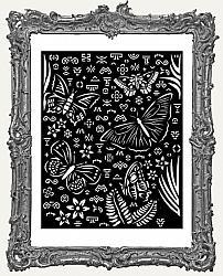 Stamperia Stencil - Amazonia Butterflies
