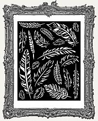 Stamperia Stencil - Amazonia Feathers