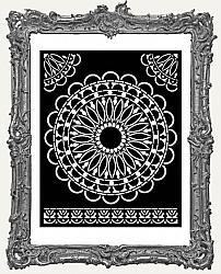 Stamperia Stencil -  Atelier Des Arts Round Lace