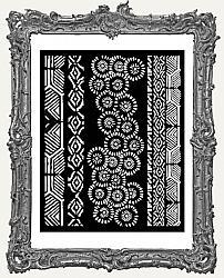 Stamperia Stencil - Amazonia Tribals
