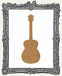 Chipboard Acoustic Guitar Cut-Outs - 3 Pieces