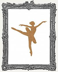 Chipboard Ballerina Cut-Outs - 3 Pieces - One of Each Style
