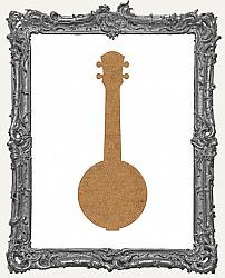 Chipboard Banjo Cut-Outs - 3 Pieces