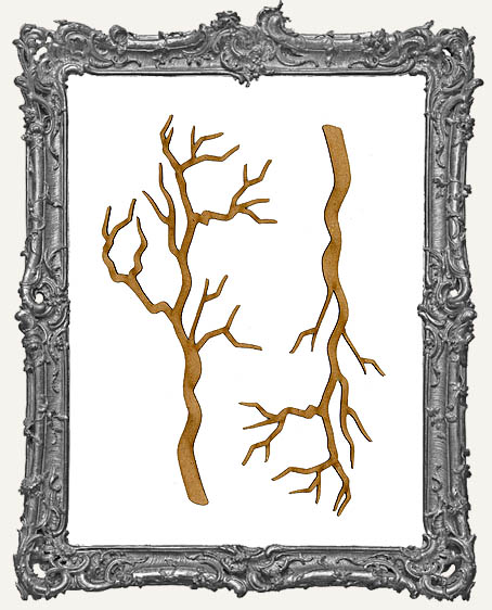 Chipboard Bare Branch Cut-Outs