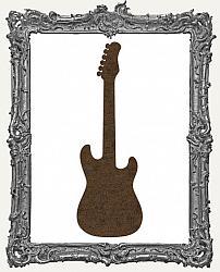 Mixed Media Creative Surface Board - Electric Guitar