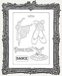 Stamperia A4 Soft Maxi Mould - Passion Dancer
