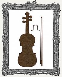 Mixed Media Creative Surface Board - Violin