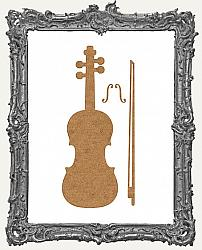 Chipboard Violin Cut-Outs - 3 Sets
