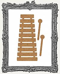 Chipboard Xylophone Cut-Outs - 3 Sets