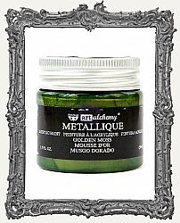 Finnabair - Art Alchemy - Metallique Acrylic Paint - Golden Moss